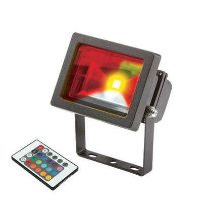 RGB Ultra Colour Changing LED Floodlight 10w