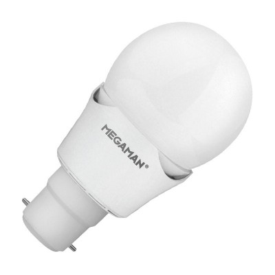 Megaman  LED 7w Golf Ball Bayonet Cap Dimmable