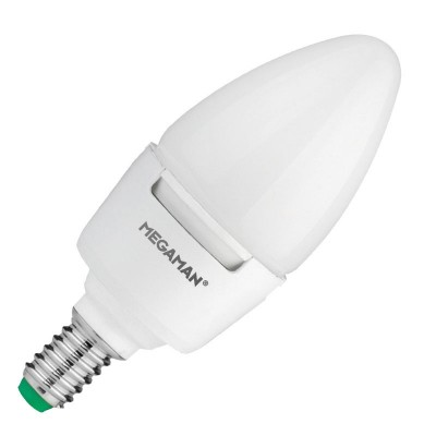 Megaman LED 7w Candle Small Screw Dimmable