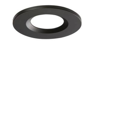 Interchangeable Bezel for Fixed Downlight Black