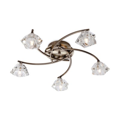 Clara 5 Light Flush Fitting